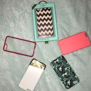 Five iPhone 7 Plus cases